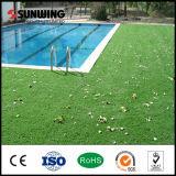 Alfombra artificial natural de la hierba de la piscina del último diseño de Sunwing para la venta