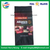 sacchetto di caffè del di alluminio 907g con la valvola & lo Stagno-Tae
