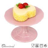 La tazza di ceramica del biscotto del piatto della torta della tazza del fiore delle tazze del biglietto di S. Valentino caric il sistemaare la tazza