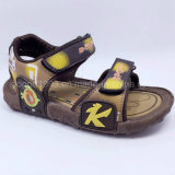 L'été de 2016 de qualité de mode d'enfants de santals d'enfants chaussures occasionnelles de santals chausse le caoutchouc d'unité centrale de chaussures d'injection