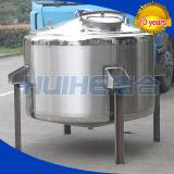 Réservoir de stockage d'acier inoxydable pour la laiterie