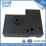 Präzision Aluminium-CNC-Maschinerie-Teile mit Schwarzem anodisiert (LM-1165A)