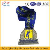 Medaglia del metallo della sagola di alta qualità per lo sport