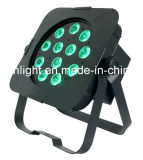 IGUALDAD plana clásica de la venta caliente 12X5w RGBA LED para el disco de la etapa