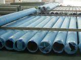 Indústria com a tubulação de aço inoxidável de 310 S que transporta o líquido