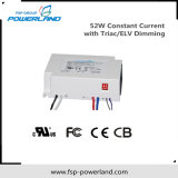 52W conducteur courant constant LED avec Triac / Elv Dimming