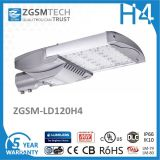IP66 Ik10 120W LED Straßenlaternemit Fotozelle und SPD