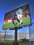 Alto video schermo di visualizzazione esterno di luminosità P12 LED per fare pubblicità