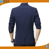 Form-Mann-Blazer-beiläufige Klagen nehmen passenden Baumwollblazer ab