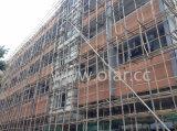 Revestimento externo aprovado do Placa-CE do cimento da fibra, fachada
