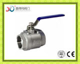 2 шариковый клапан продетого нитку конца 1000wog PC ISO 7/1