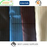 100 tissu classique de garniture de ratière de satin de son du polyester deux