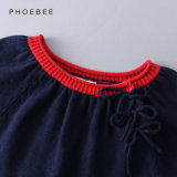 Phoebee fêz malha o vestido das crianças do desgaste dos miúdos do algodão em linha