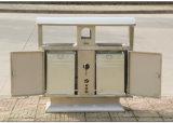 Venta caliente de acero inoxidable cubo de basura al aire libre (HW-83)