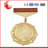 Opgepoetste Medaille van het Metaal van de douane de Goedkope Sporten met Lint