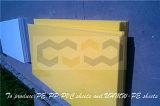 Folha plástica de nylon de Du Pont com borracha da inserção