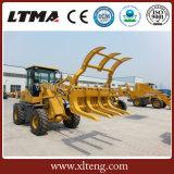 De MiniLader van Ltma de Lader van het Wiel van 1 Ton met Ce