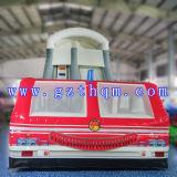 الحافلة قابل للنفخ منزلق سرير/قابل للنفخ طويل ماء [سليد/بفك] قابل للنفخ بالغ منزلق خارجيّ