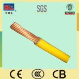 alambre de conexión a tierra 6sqmm amarillo y verde para el edificio H07V-U H07V-R