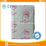 Haute serviette sanitaire de nom de marque de coton absorbant d'OEM