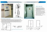 Hermetic automatico Door con Ce Mark, X-raggio Hospital Door di Airtight Sealed