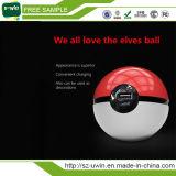 Fonte de alimentação de Pokemon com forma de Pokeball