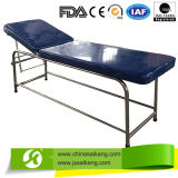 Edelstahl Medical Examination Couch mit Step Stool