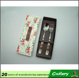 Ceramics promotionnel Stainless Steel Spoon et Fork Cutlery Set