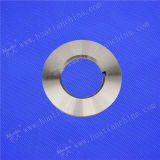 Cizalla fina lámina de aluminio de hoja por un equipo de corte longitudinal