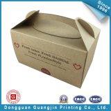 De bruine Cakes die van het Document van de Kleur Vakje inpakken (gJ-Box141)