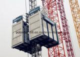 Лифт строителя с механизмом реечной передачи