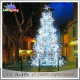 屋外の景色の装飾のクリスマスはLEDの球の木ライトをカスタマイズする