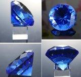 결혼식 호의 선물 수정같은 다이아몬드 문진의 면을 낸 수정같은 광학적인 다이아몬드