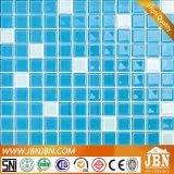 Mosaico de cristal del color azul barato del precio para la piscina (G423001)