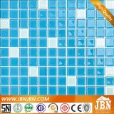 Mosaico de vidro da cor azul barata do preço para a piscina (G423001)