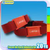 125kHz Kodierung E Ticket T5577 Gewebe Armband für Musik Festival