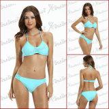 Parte superiore di bikini Mint di colore delle più nuove ragazze di stile