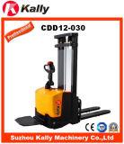 De smalle Elektrische Stapelaar van Benen met Capaciteit 1.2ton (CDD12-030)