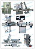 Tipos diferentes de máquinas tampando do frasco