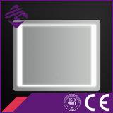 Jnh164 Cheappolished LED 빛을%s 가진 장방형에 의하여 모서리를 깎아내는 가장자리 목욕탕 미러