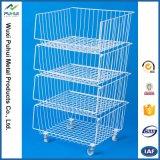 3 Reihe-Fußboden-Metallbildschirmanzeige (PHY538)
