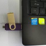 3.0 Venta caliente de alta velocidad de destello del USB del eslabón giratorio OTG (3.0 OTG-102)