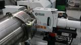 Extrusora de único parafuso plástica na película plástica que recicl a máquina do granulador