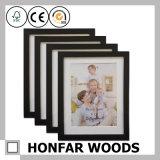 Frame de madeira clássico da foto do retrato de Brown para a decoração Desktop