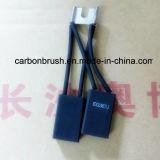 Escova de carbono da grafita de China para o motor da C.C. (POR EXEMPLO 367J)