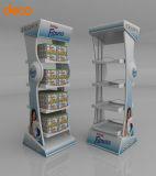 Equipo de visualización de papel de la cartulina del estante de visualización para la venta al por menor
