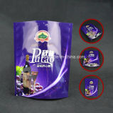Saco de plástico de pé do alimento de Customzied com as 3 camadas materiais para o pacote do petisco com Zipper