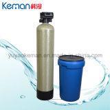 Type fendu système de ramollissant d'épurateur de l'eau avec la soupape de commande automatique