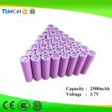 Batteria ricaricabile del litio 18650 dello Li-ione di prezzi di fabbrica 2500mAh 3.7V