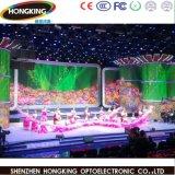 Örtlich festgelegte LED-Innenbildschirmanzeige farbenreiches P3.91 SMD2121 schwarze LED